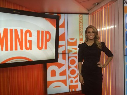 Carrie Underwood Today Show
