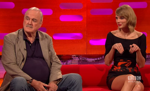 Taylor and john cleese