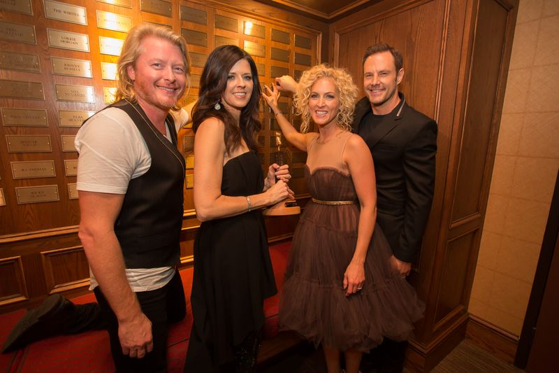 Little Big Town induction Hollo 8369 10-17-14