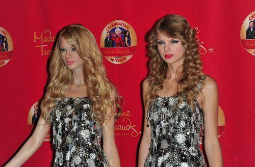 Taylor in wax 2010