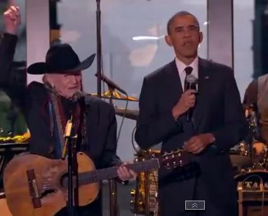 Willie Nelson President Obama