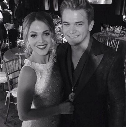 Hunter Hayes and girlfriend