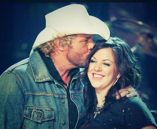 Toby Keith and Krystal Keith