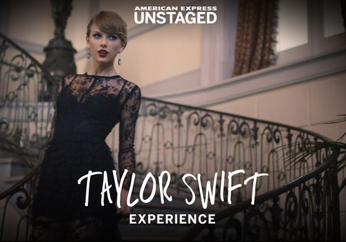 Taylor Swift American Express Unstaged