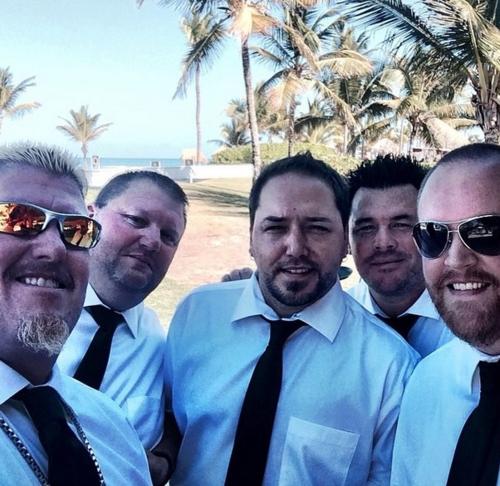 Dee Jay Silver wedding