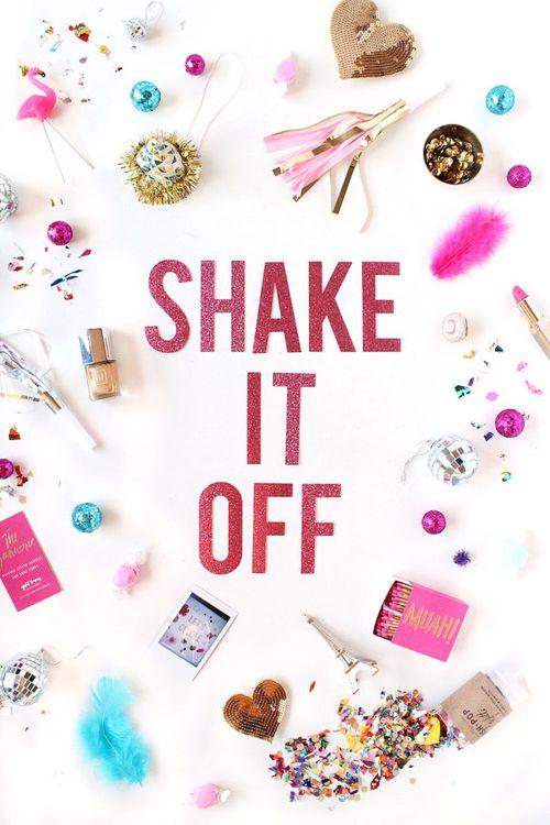 Shake it off banner